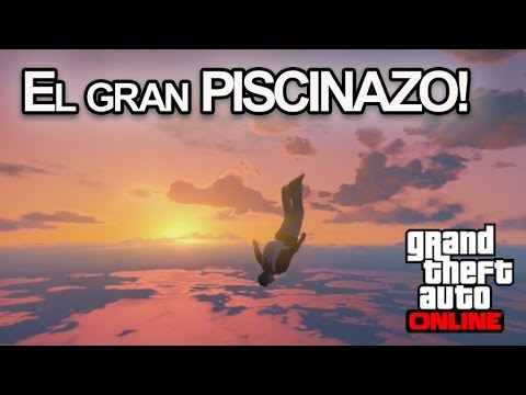 EL GRAN PISCINAZO!! GTA V ONLINE - [LuzuGames]