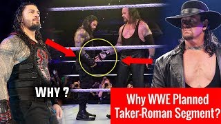 Real Reason Why Undertaker Offer Handshake to Roman Reigns ? WWE Live MSG 7 July 2018 Highlights !