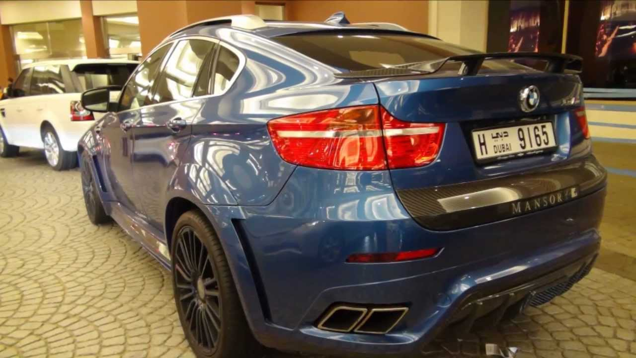 Mansory Bmw X6m In Dubai U A E Full Hd Youtube
