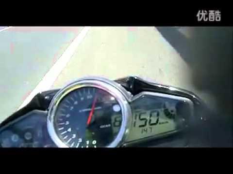 suzuki inazuma GW 250 top speed  154.flv