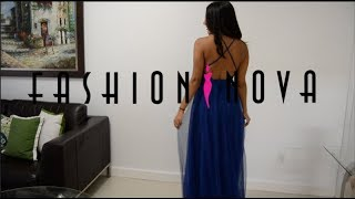 Fashion Nova Try-on Haul | PROM DRESS?! | NON-Influencer Review
