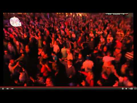 Dave Clark live at Tomorrowland 2012