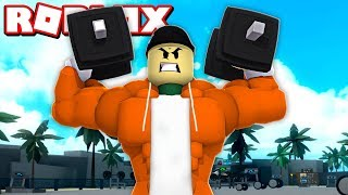 GETTING STUPIDLY BUFF IN ROBLOX! | Roblox Weight Lifting Simulator 3