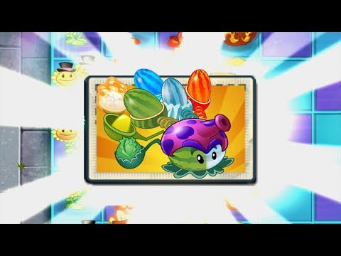 All Pult Plants Max Level Power-Up! in Plants vs Zombies 2