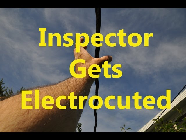 Home Inspector Gets Electrocuted