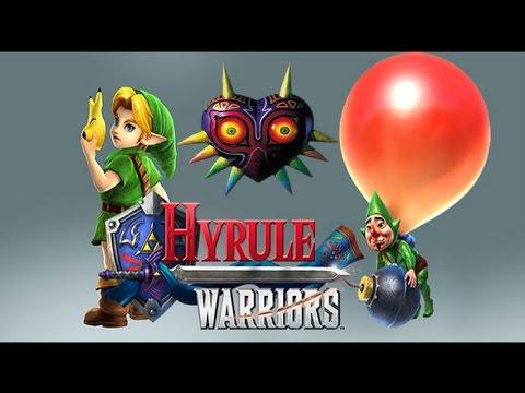 hyrule warriors (majora's mask dlc) youtube