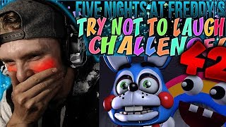 Vapor Reacts #651 | [FNAF SFM] FIVE NIGHTS AT FREDDY'S TRY NOT TO LAUGH CHALLENGE #42