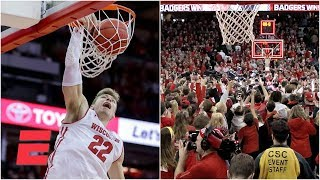 Wisconsin hands No. 2 Michigan first loss in Madison shocker | College Basketball Highlights