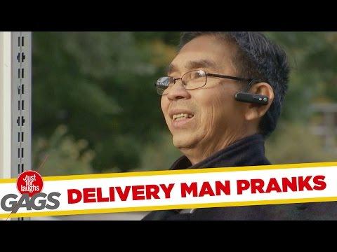 Delivery Man Prank - Kézbesítő