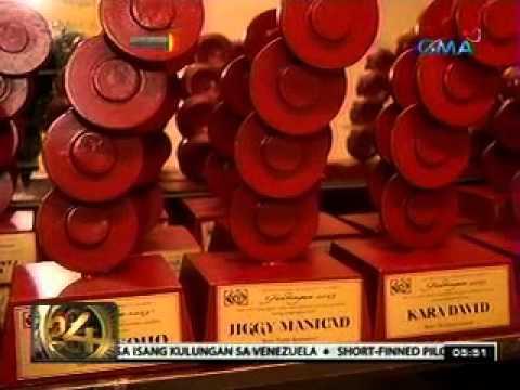 24 Oras: Ilang Kapuso personalitie, kasama sa mga paparangalan sa Gandingan Awards 2013