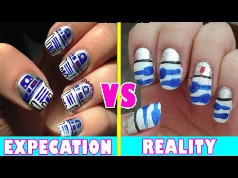 Nail Art Expectations Vs Reality