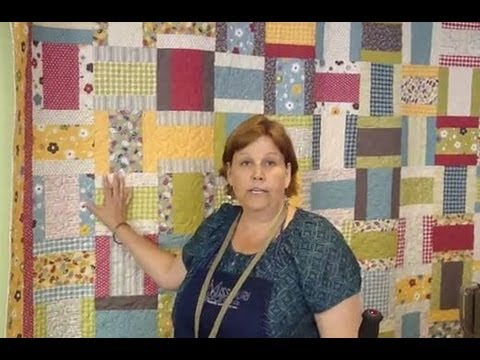 Layer Cake Jelly Roll Quilt Youtube