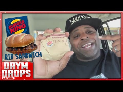 Burger King's Rib Sandwich Review