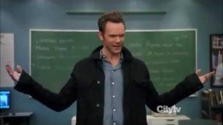 "Joel McHale - ""Paradigms of Human Memory"" Winger Speech"
