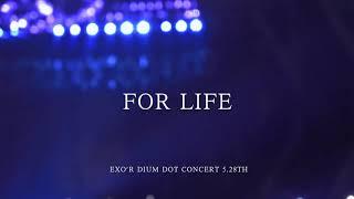 EXO REACT EXO-L SINGING 'FOR LIFE'