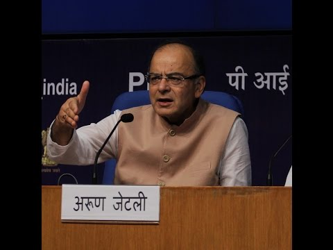 Live: Press Conference By Shri Arun Jaitley on GST