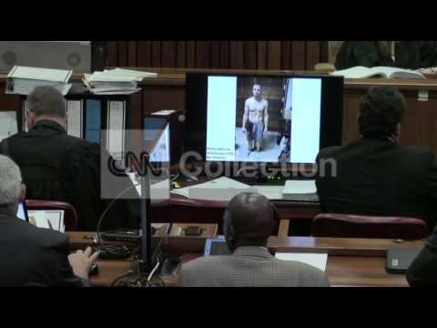PISTORIUS TRIAL: BLOOD-SOAKED OSCAR PHOTO