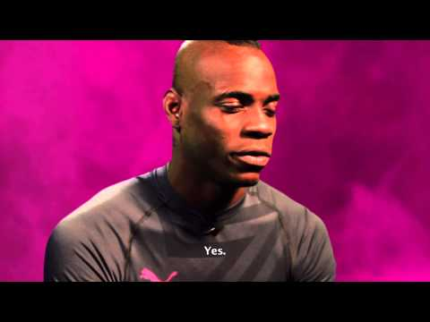 Mario Balotelli interviews Mario Balotelli