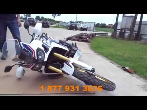 Honda Africa Twin CRF1000L crash bars and skid plate pre-view