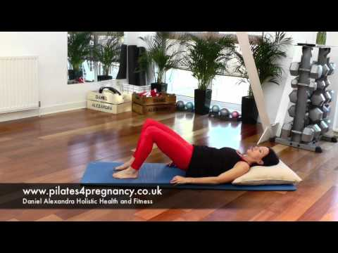 Best Exercises for Pregnancy - Pelvic tilts and raises