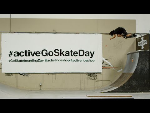 Active Go Skateboarding Day 2017