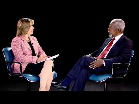 ITU INTERVIEW: Kofi Annan, Founder and Chairman, Kofi Annan Foundation