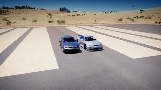 Nismo GT-R LM Road Car vs Nissan Skyline GT-R V-Spec - DRAG RACE! Forza Horizon 3