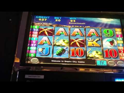 Double Dolphins slot machine at Empire City casino