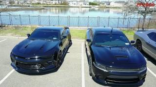dodge charger scat pack srt challanger shaker 392 and chevy camaro ss