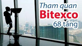 Bitexco 68 - Khóc thét với vé vào cửa là 200K - Bạn sẽ được xem gì và uống gì ?