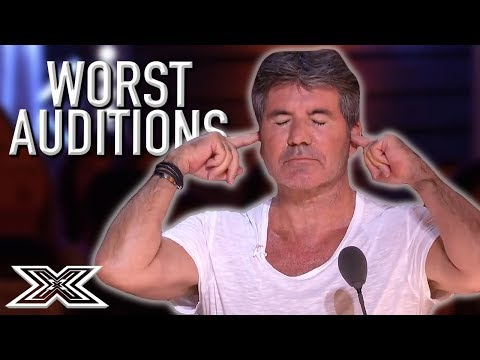 WORST AUDITIONS On The X Factor UK 2018  X Factor Global