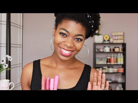 Jordana Twist & Shine Moisturizing Balm Stain Review + Lip Swatches - NaturalMe4C - 4C Natural Hair