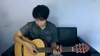 (Evie Tamala) Kandas - Nathan Fingerstyle Cover [Dangdut]