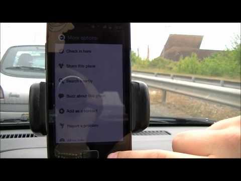 Samsung Galaxy S II (S2) GPS Google Navigation & Google Maps Test