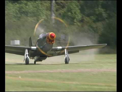 P51 Old Crow incl.flames. very loud and very cool.