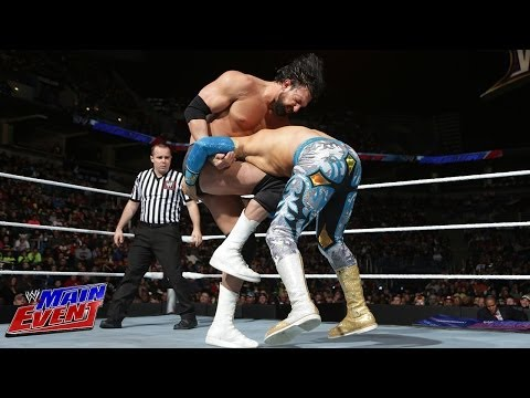 Sin Cara Vs. Damien Sandow: Wwe Main Event, Feb. 26, 2014 video