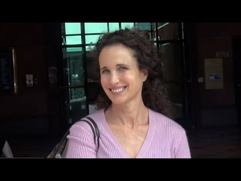 Andie MacDowell Answers Questions About The Term Cougar