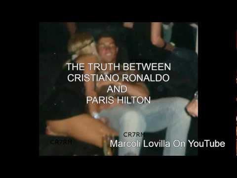 CRISTIANO RONALDO PARIS HILTON LOVE STORY