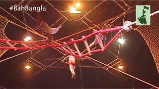 Dangerous Trapeze Act | Olympic Circus