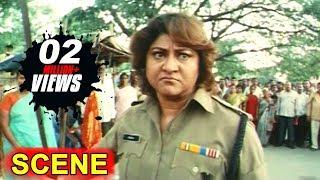In Climax Car Chasing Scene  Kiran Bedi Movie Malasri Ashish Vidyarthi