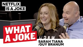Sarah Tiana On Being a DJ  & Guy Branum Talks Gay Super Powers | What A Joke | Netflix Is A Joke