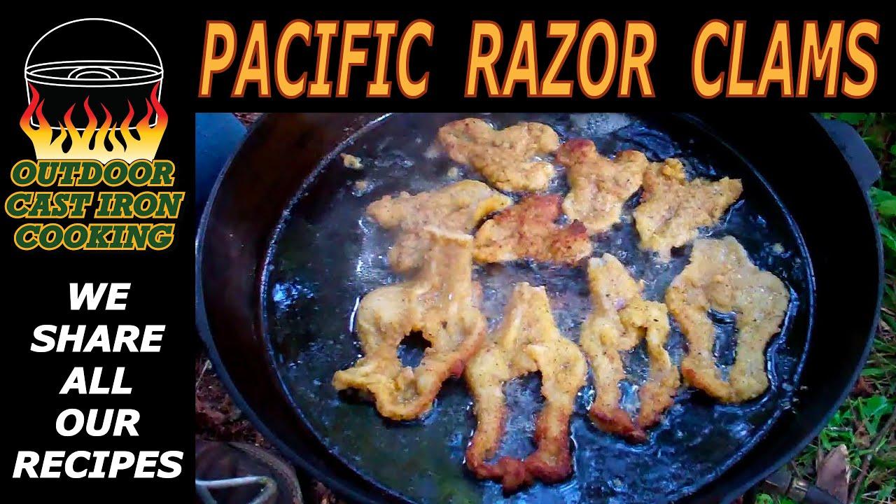 how to cook razor clams uk