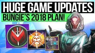 Destiny 2 News | HUGE UPDATES REVEALED! - Masterwork Armor, 6v6 Crucible, Strike Scoring, Ranked PvP