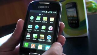 Samsung Galaxy Mini S5570 review HD ( in Romana ) - www.TelefonulTau.eu -