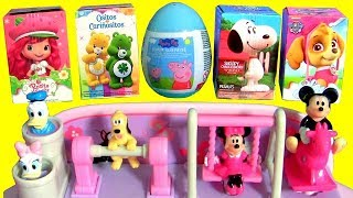 Disney Baby Minnie Mouse Activity Piano Toys Surprises Snoopy Strawberry Shortcake by FTC #funtoys