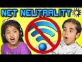 KIDS REACT TO NET NEUTRALITY (Burger King | Whopper Neutrality)