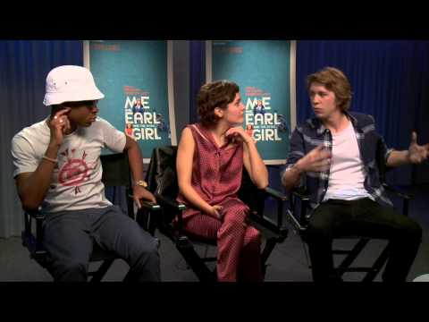 Interview with Me and Earl and the Dying Girl cast