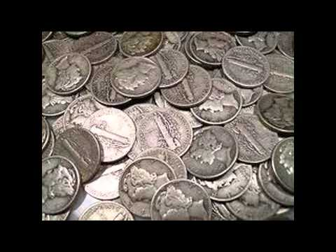 Mercury Dimes | From Most Valuable Coins Mercury Dimes 90 Percent Silver