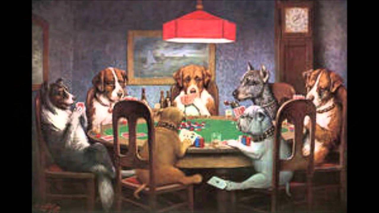Dogs Playing Cards Wallpaper Dogs Playing Poker Joke