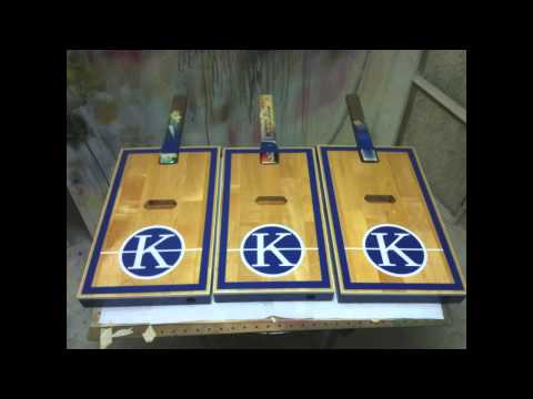 University of Kentucky Memorial Coliseum Tribute Guitars